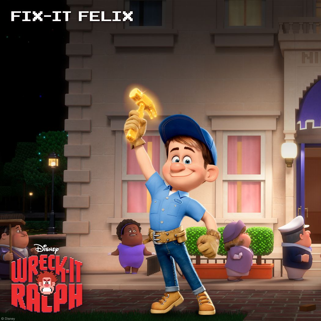 WRECKIT RALPH Images and Character Descriptions  Collider