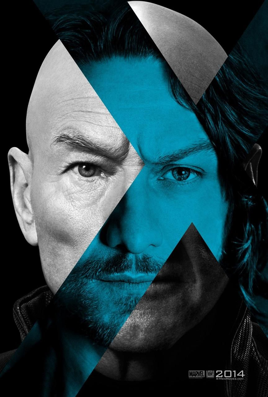 X-MEN: DAYS OF FUTURE PAST Posters Featuring Patrick ...