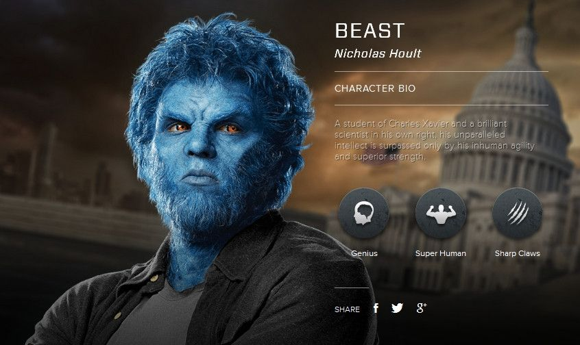 X-MEN: DAYS OF FUTURE PAST Images and Character Bios ...