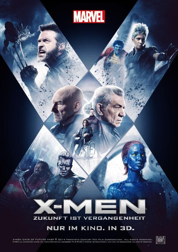 3d x men days of future past