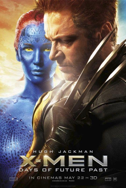 X-MEN: DAYS OF FUTURE PAST Posters. X-MEN Stars Hugh ...