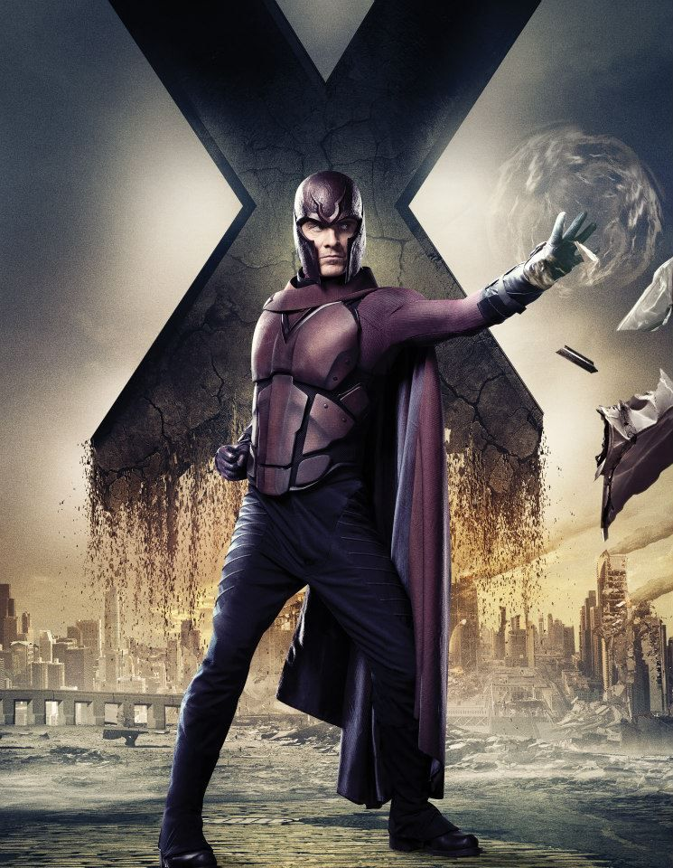 X-MEN: DAYS OF FUTURE PAST Character Art Featuring Hugh ...