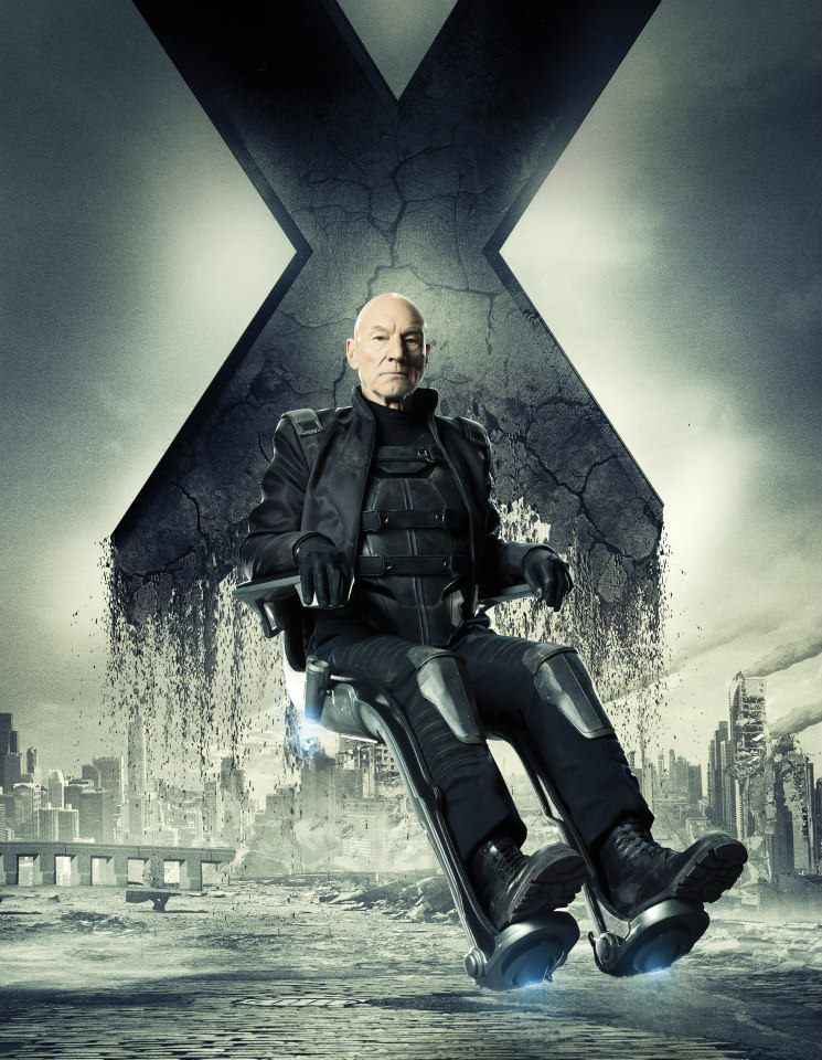 Patrick Stewart Plays Professor X a Final Time in ...