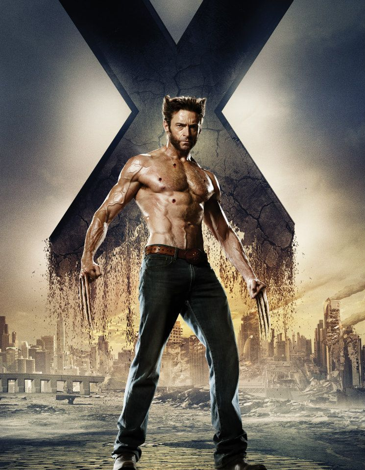 X Men Days Of Future Past Poster Wolverine
