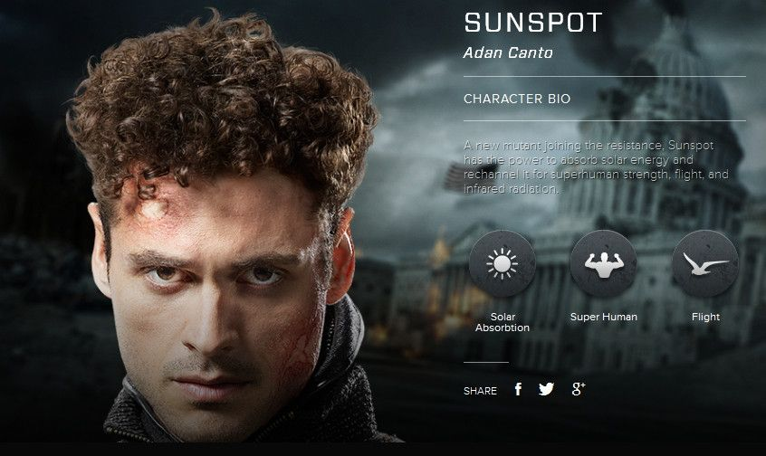 sunspot men Originally, sunspot metabolized the sunlight he absorbed, charging his muscles to increase in strength, endurance, and resilience  x-men is a registered .