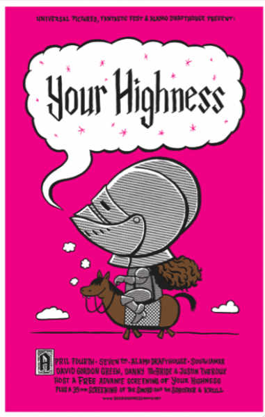 your-highness-alamo-drafthouse-poster-flyer-01