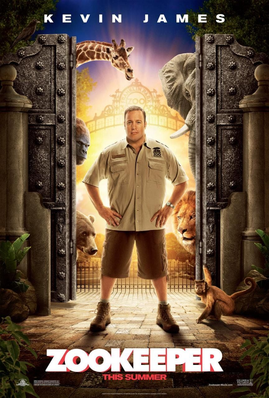 ZOOKEEPER Movie Clips Kevin James | Collider